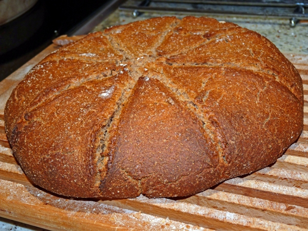 A Loaf of Leavened Mesopotamian Bread - The Silk Road Gourmet