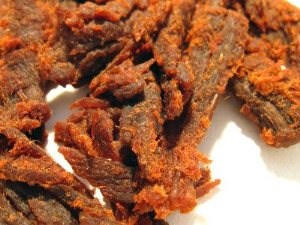 Sweet and Hot Yak Jerky