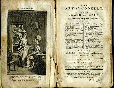 The Art of Cookery, 1774