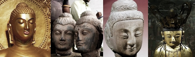 Depictions of Buddha: Caucasian and Asian, by Laura Kelley at http://www.silkroadgourmet.com/hannah-glasse-curry/