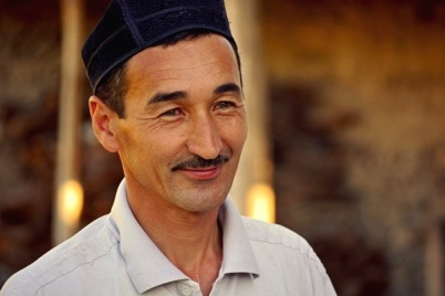 Tajik Man in the Nurata Mountains