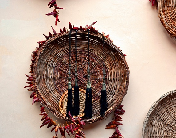 Basket Decoration, Detail