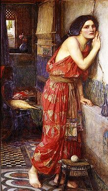 Thisbe by John William Waterhouse