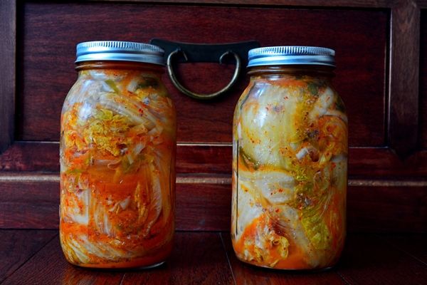 North Korean Kimchi - 2nd and 3rd Iterations