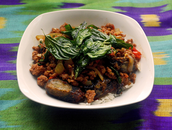 Thai Pork with Century Eggs