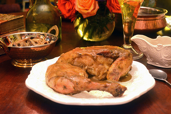 Vindaloo Roast Chicken, 1675