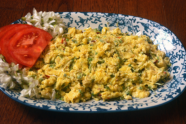 Eggs with Locust Blossoms
