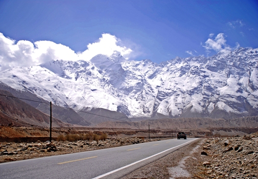 Cruising the Karakorum Highway