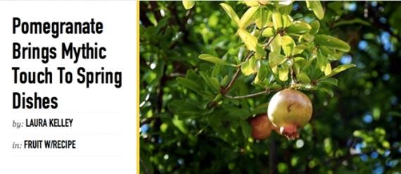 Pomegranate Symbolism For Spring Silk Road Gourmet